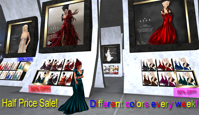Azul clothing sale, Second Life