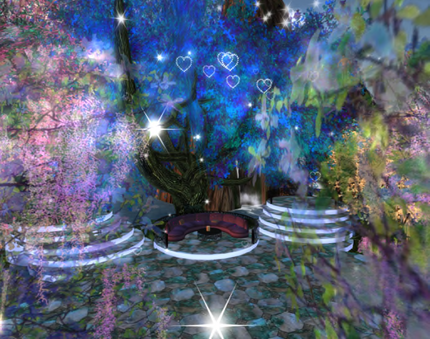Blue Forest Ballroom in Second Life