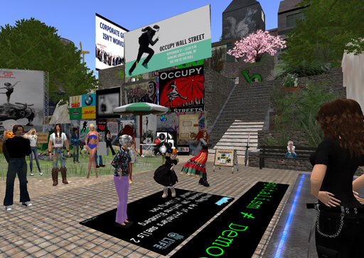 Occupy in Second Life