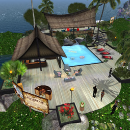 Daydream island Hangout in Second Life