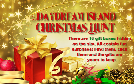Christmas Hunt, Daydream Island, Second Life